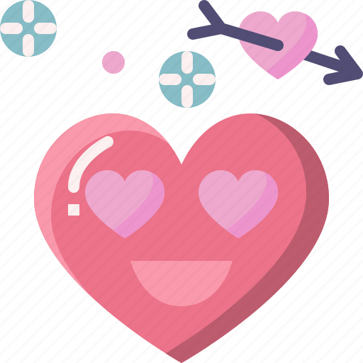 Emoji, emotion, feeling, heart, love, romance, valentine icon - Download on Iconfinder