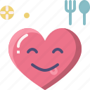 emoji, emotion, feeling, heart, love, tasty, valentine