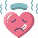 emoji, emotion, feeling, heart, love, sick, valentine