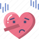 emoji, emotion, feeling, heart, love, lying, valentine