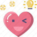 emoji, emotion, feeling, heart, idea, love, valentine