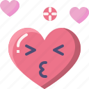 emoji, emotion, feeling, heart, kiss, love, valentine
