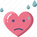 emoji, emotion, feeling, heart, love, valentine, worry