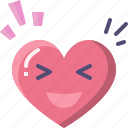 emoji, emotion, feeling, heart, laugh, love, valentine