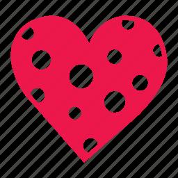 heart, love, lover, pink, valentine, wedding icon
