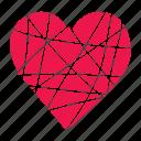 heart, love, lover, pink, valentine, wedding