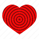 heart, love, lover, red, valentine, wedding icon