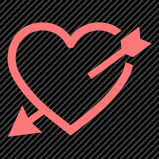 Heart, love, lover, pink, valentine, wedding icon - Download on Iconfinder