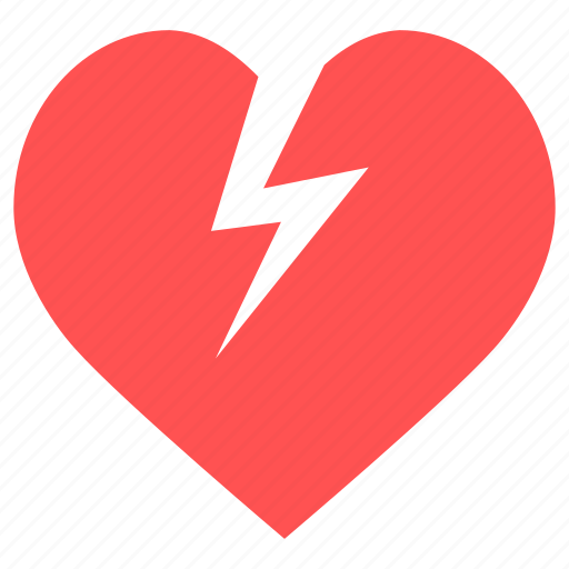 Energy, heart, heart power, lightning, power, battery, electric icon - Download on Iconfinder