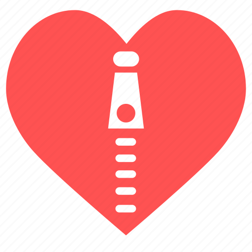 Health, heart, heart zipper, like, love, zipper icon - Download on Iconfinder