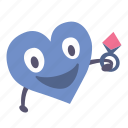 boy, gift, heart, giving, valentine, ring icon