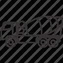 concrete, equipment, heavy, heavyequipment, mixer, truck, vehicle icon