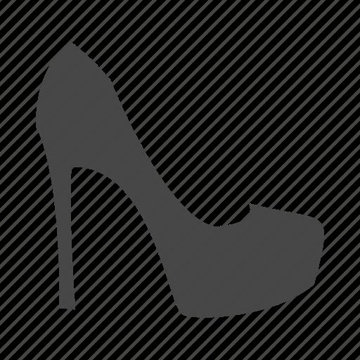 dress, heel, high, shoes, shop, shopping icon