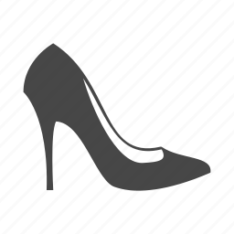 heel, high, lady, shoes, shop, shopping, skirt icon