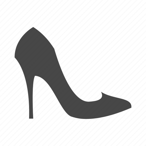 dress, heel, high, lady, shoes, shop, shopping icon