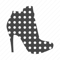 fashion, heel, high, shoes, shop, women icon