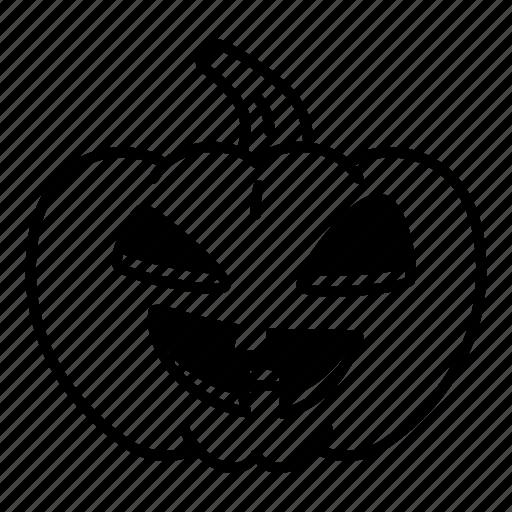 helloween, pumpkin icon