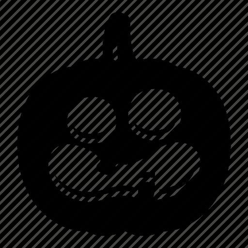 helloween, horror, pumpkin icon