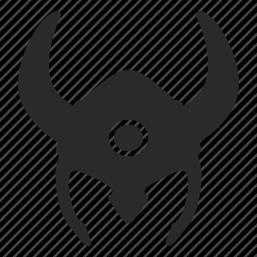 helmet, soldier, viking, warrior icon