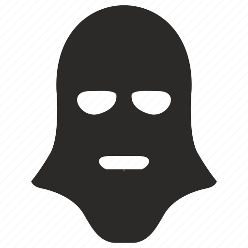 face, hat, mask, secret, terrorist, theft icon