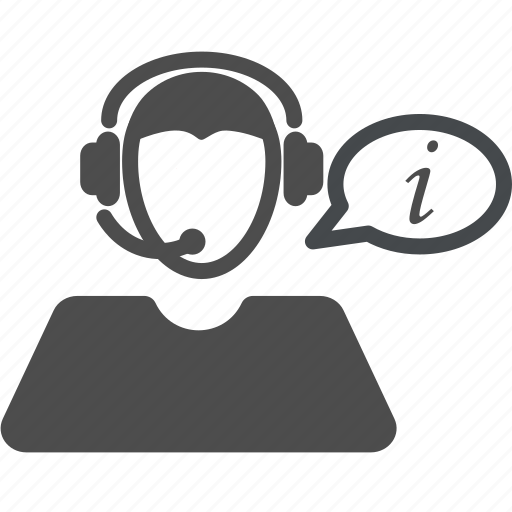 helpdesk, information icon