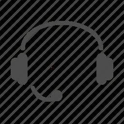 headphone, helpdesk, support icon