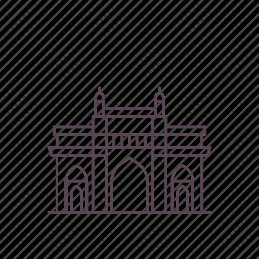 architecture, gate, gatewayofindia, heritage, india, mumbai, structure icon