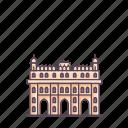 architecture, bara, complex, heritage, imambara, india, lucknow icon