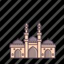 ahmedabad, building, heritage, india, jhultaminar, minarets, shaking icon