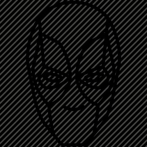 Deadpool Marvel Mask Mercenary Icon Download On Iconfinder