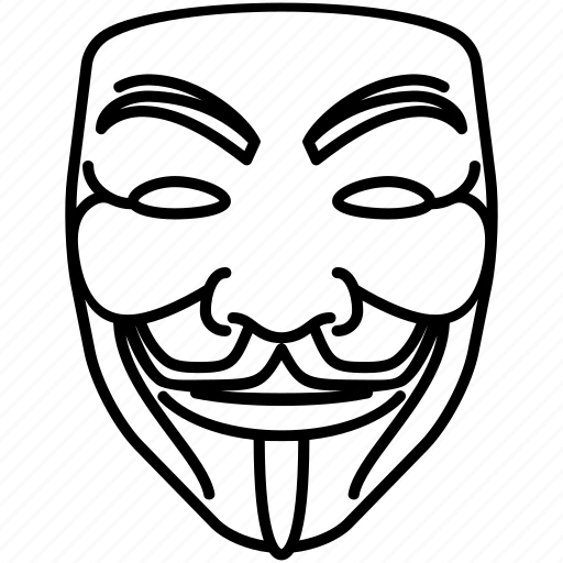anonymous, guy fawkes, mask, vendetta icon