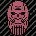 titan, villain, marvel, thanos, mcu icon
