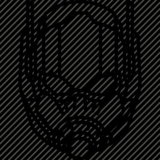 ant man, helmet, marvel, suit icon