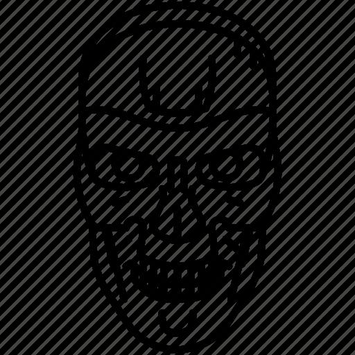 droid, machine, robot, terminator icon