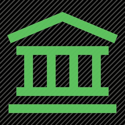 bank, court, democracy, finance, institution, museum, parliament icon