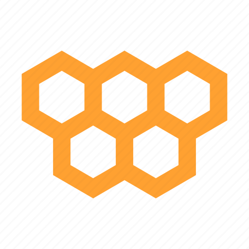 construction, efficiency, hexagons, honeycomb, network, pattern, structure icon