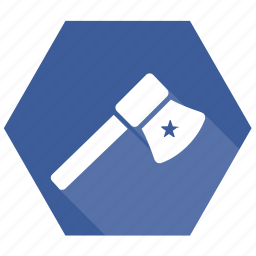 axe, basket, cart, chopping, price, sale icon