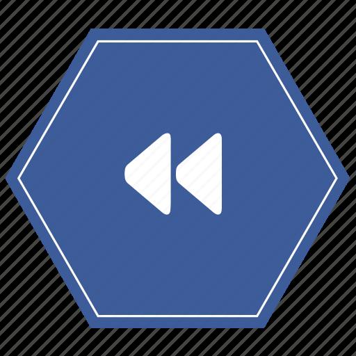 arrow, backward, camera, movie, player icon
