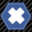 chart, close, data, discard, storage icon