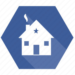analytics, business, chart, house, office, report icon