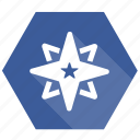 achievement, award, bookmark, prize, star, trophy icon