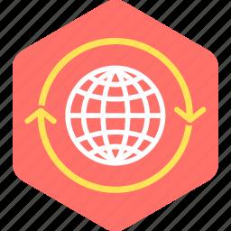 communication, global, internet, web icon