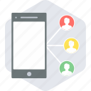 chat, group, conversation, mobile, people, team, users