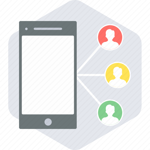 chat, conversation, group, mobile, people, team, users icon