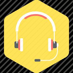 audio, headphone, headset, music, speaker icon
