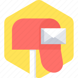 box, envelope, letter, mail, postbox icon