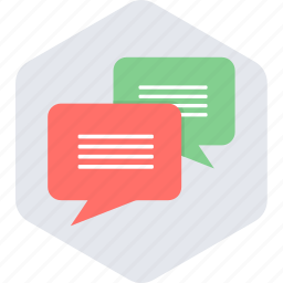 communication, message, messaging, text icon