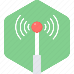 antenna, internet, network, web, wifi, wireless icon