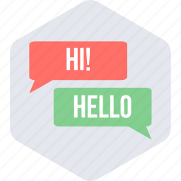 chat, chatting, hello, hi, message icon