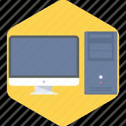 computer, cpu, hardware, memory, monitor, pc, screen icon